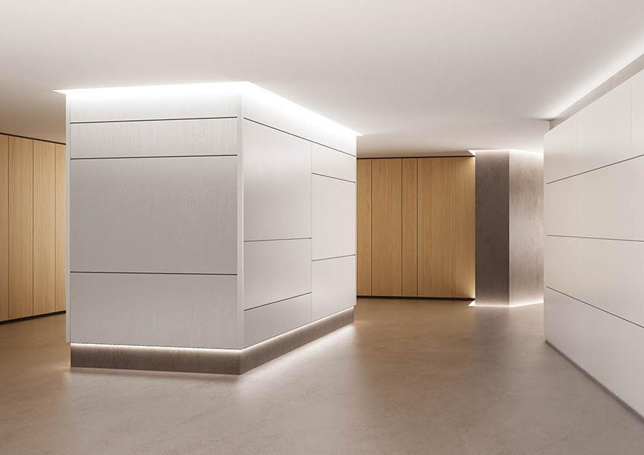 Boiserie vetroin leader arredo ufficio in vetro e - Design d interni ...