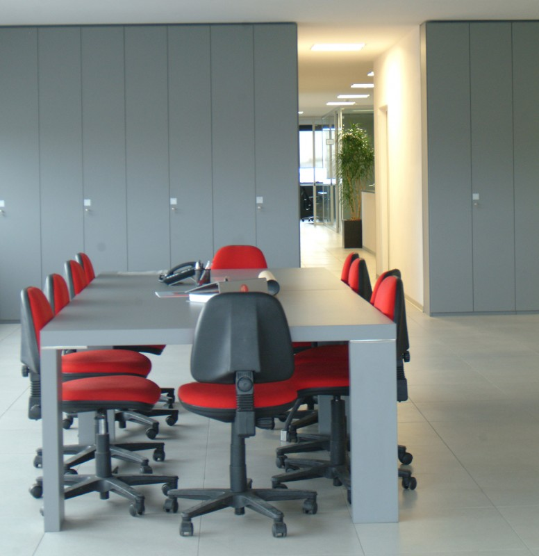 Gimatic vetroin leader arredo ufficio in vetro e design for Arredo plast spa
