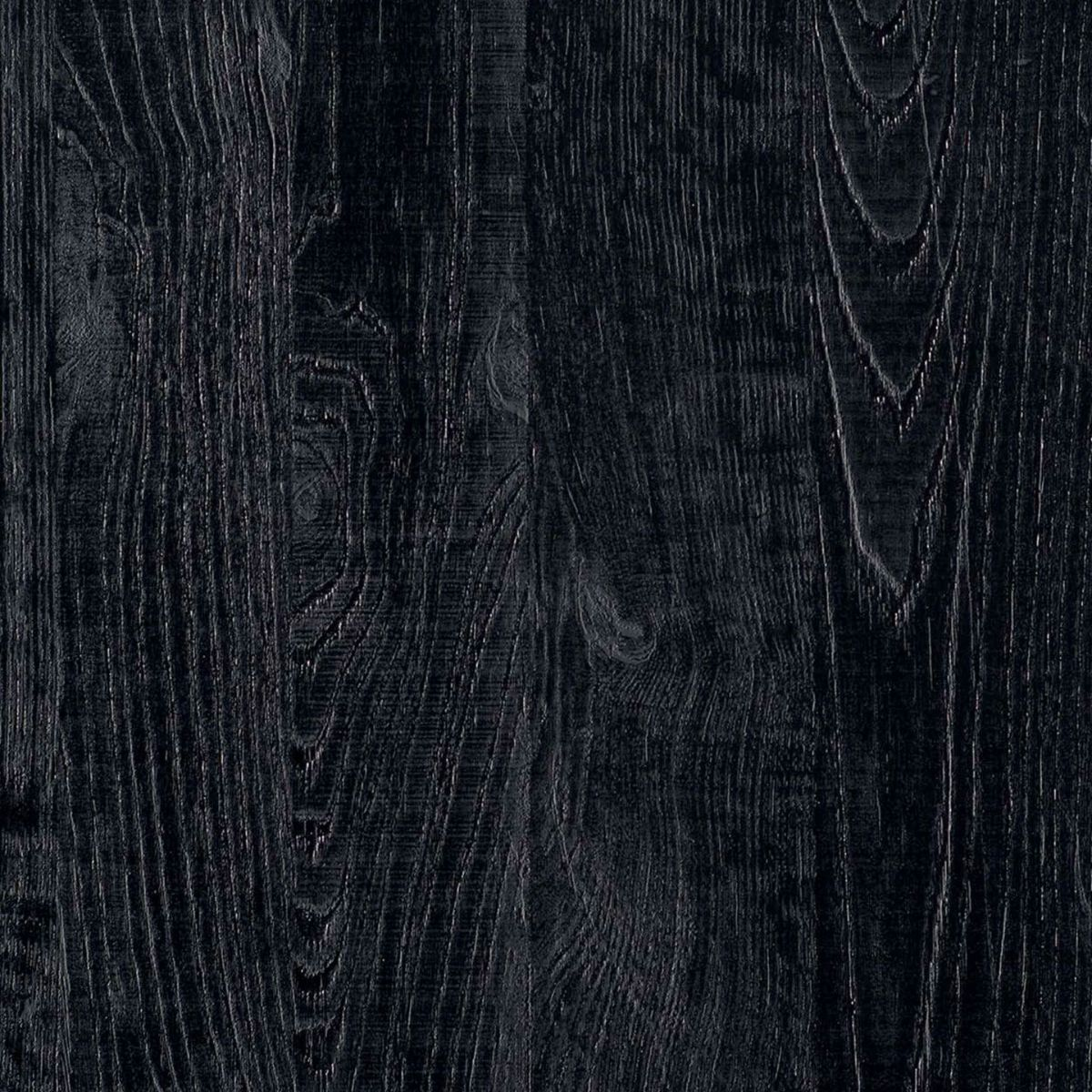 Finitura pannelli in sherwood nero per parete in vetro