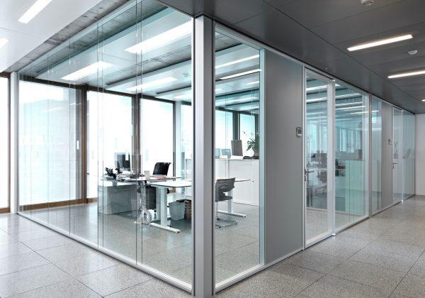Pareti mobili uffici AET - Hide