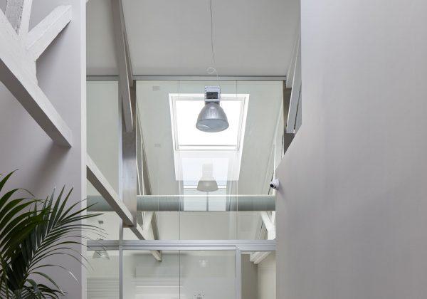 Pareti divisorie in alluminio e vetro uffici Vemar - Truelight
