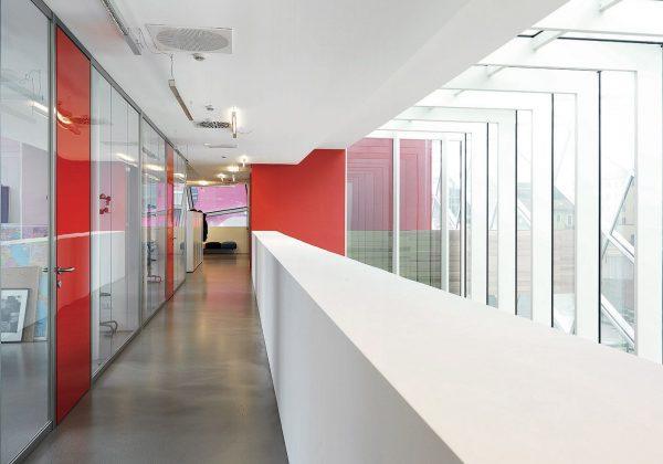 Pareti divisorie in vetro uffici Procter e Gamble Warsaw