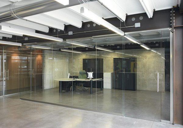 Pareti divisorie in vetro uffici SELLE ROYAL