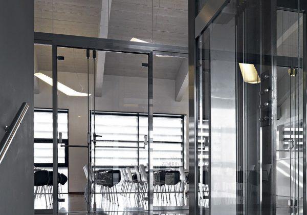 Pareti divisorie in vetro uffici UBI Banca Milano