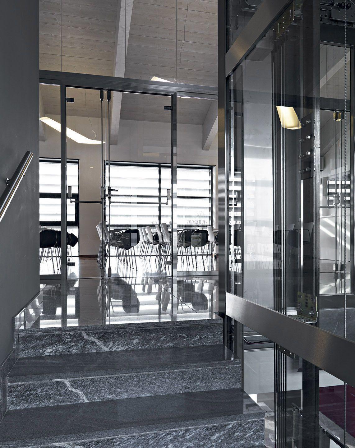 Pareti divisorie in vetro uffici UBI Banca   VetroIn